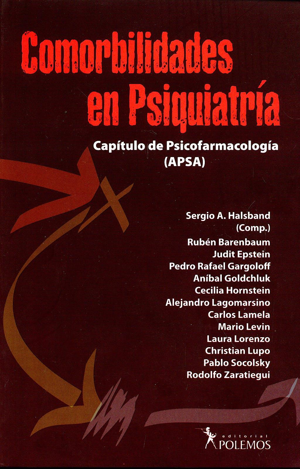 Portada del libro 9789876490153 Comorbilidades en Psiquiatria. Capitulo de Psicofarmacologia (Apsa)