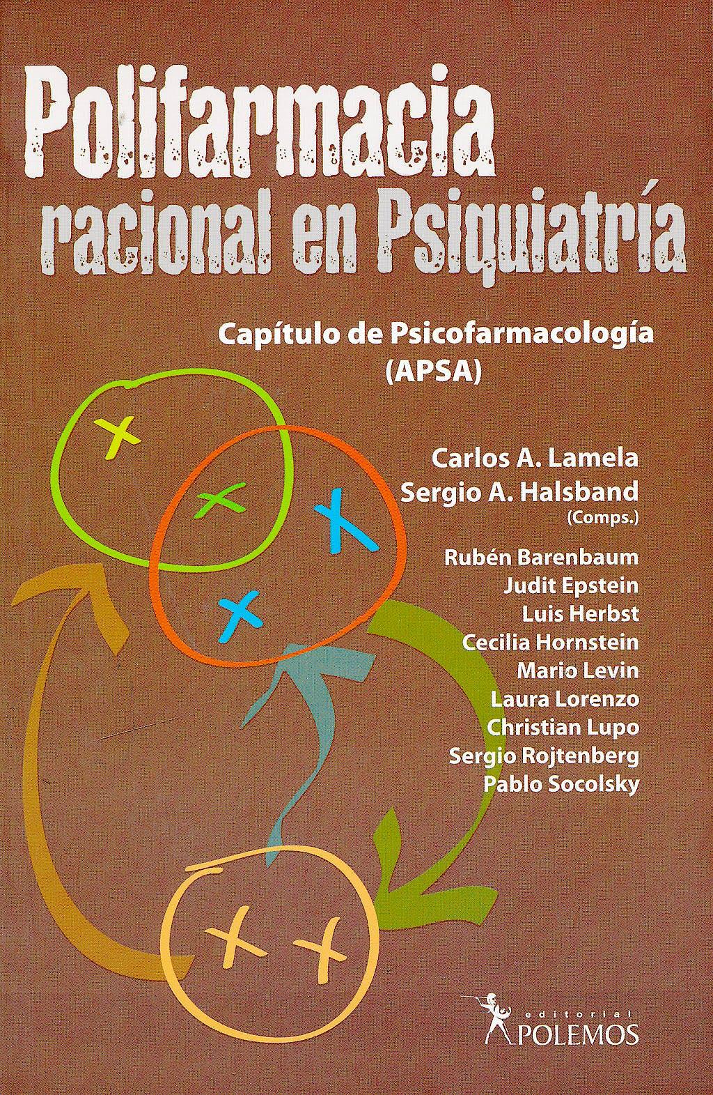 Portada del libro 9789876490238 Polifarmacia Racional de Psiquiatría. Capítulo de Psicofarmacología