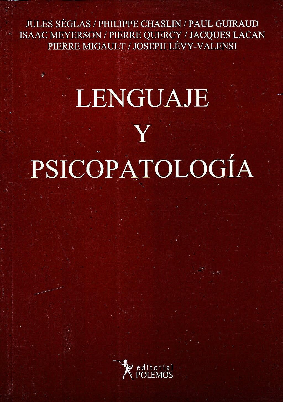 Portada del libro 9789876490351 Lenguaje y Psicopatologia