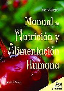 Portada del libro 9789877601282 Manual de Nutrición y Alimentación Humana