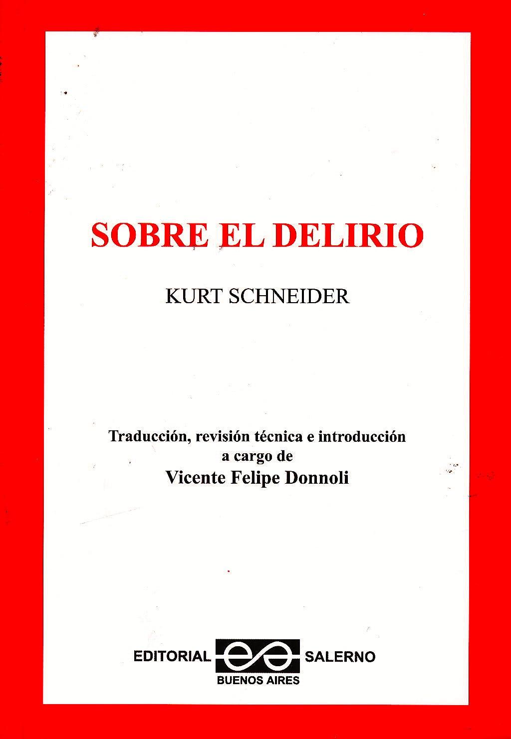 Portada del libro 9789879083314 Sobre el Delirio