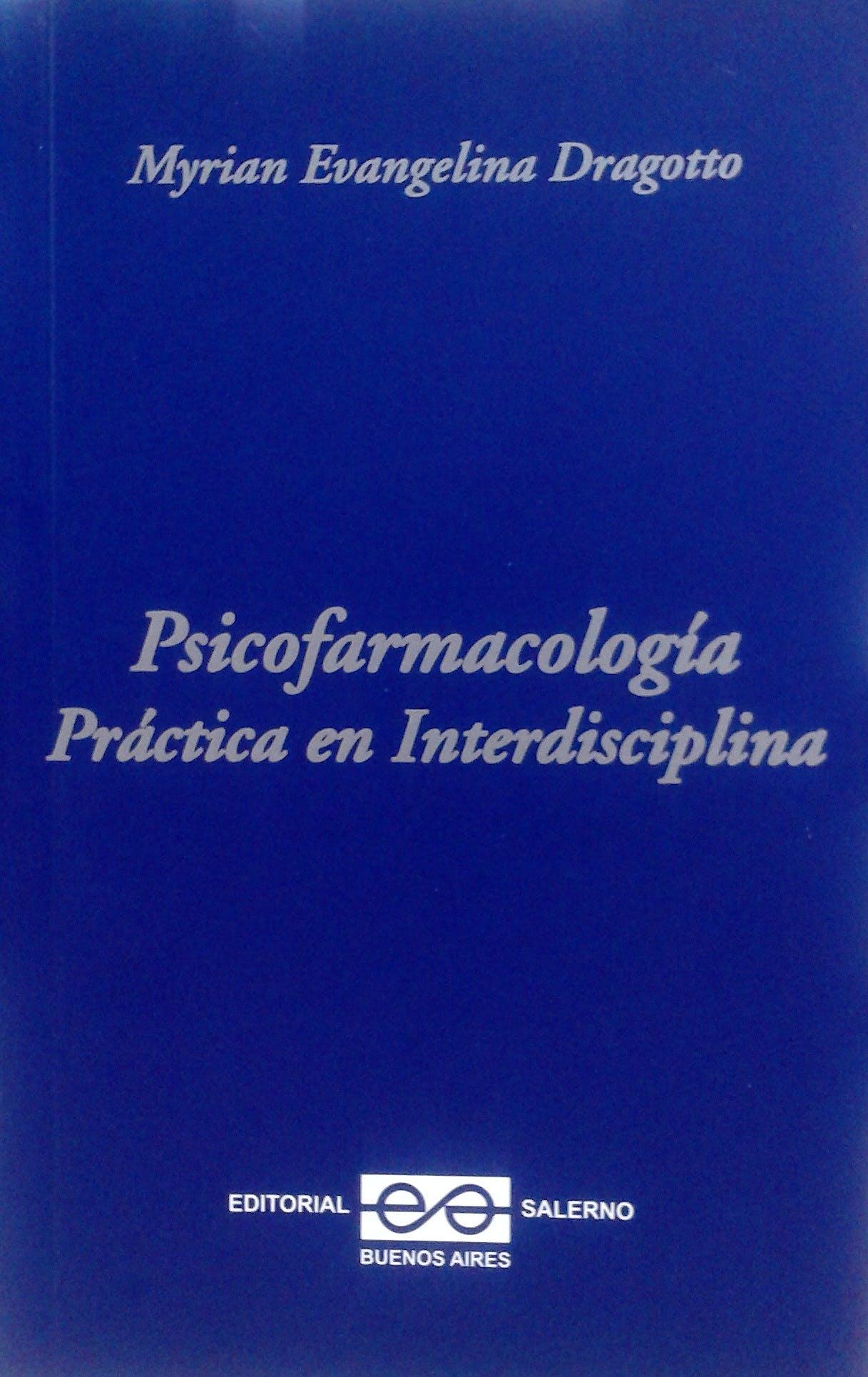 Portada del libro 9789879083468 Psicofarmacologia Practica en Interdisciplina