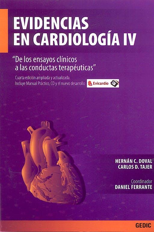 Portada del libro 9789879838839 Evidencias en Cardiología IV + Manual Práctico