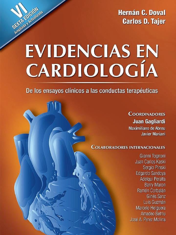 Portada del libro 9789879838853 Evidencias en Cardiologia + Manual de Ensayos Clinicos y Estadistica, 2 Vols.