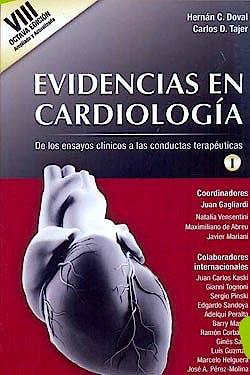 Portada del libro 9789879838884 Evidencias en Cardiologia. de los Ensayos Clinicos a las Conductas Terapeuticas, 2 Vols.