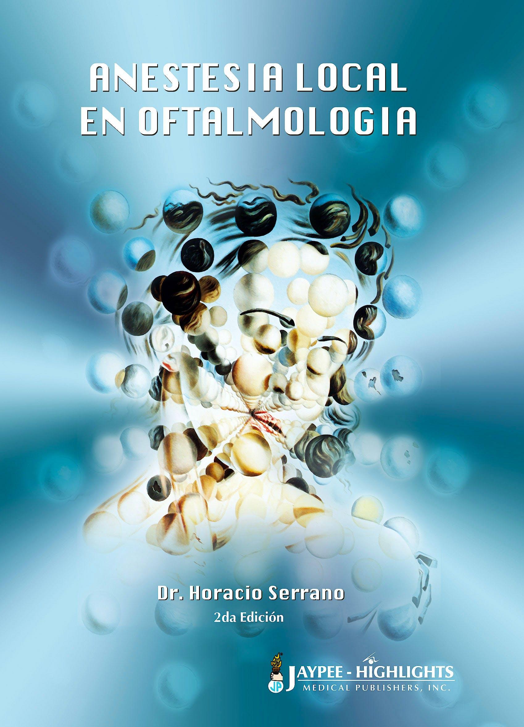 Portada del libro 9789962613121 Anestesia Local en Oftalmologia