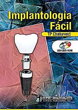 Portada del libro 9789962678410 Implantología Fácil + DVD-ROM