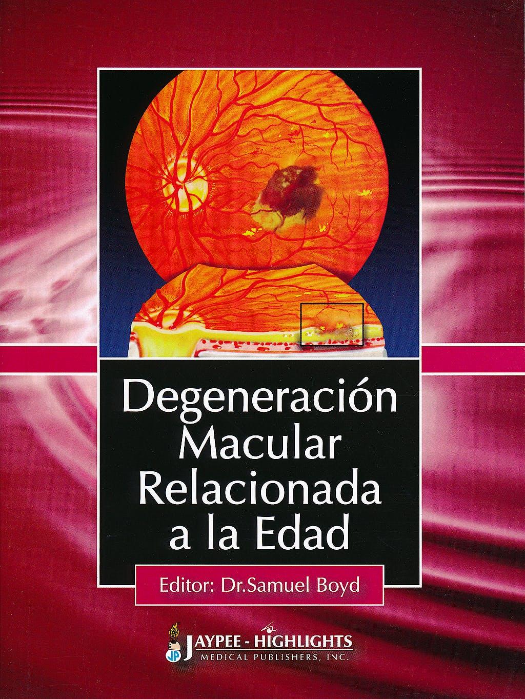 Portada del libro 9789962678564 Degeneración Macular Relacionada a la Edad
