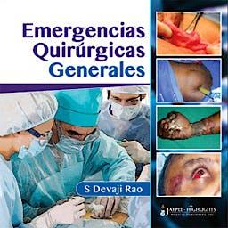 Portada del libro 9789962678687 Emergencias Quirurgicas Generales