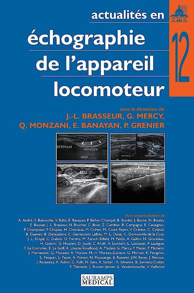 Portada del libro 9791030300406 Actualites en Echographie de L'appareil Locomoteur, Tome 12