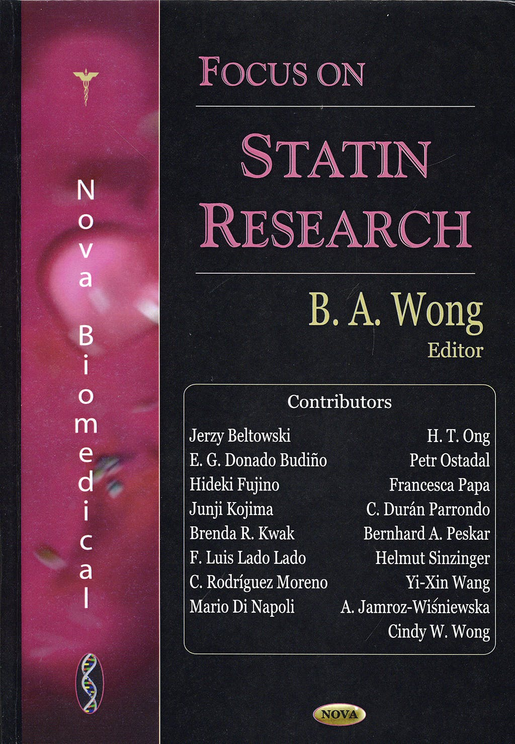 Portada del libro 9791594546173 Focus on Statin Research